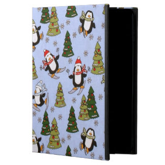 Lucht 2 van de Pinguïn van Kerstmis iPad icase