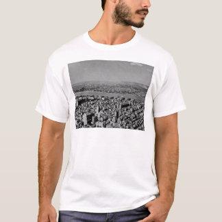 Lucht Uitzicht van de Wijnoogst van het Empire T Shirt