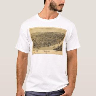 Lucht Uitzicht van Duquesne, Pennsylvania (1897) T Shirt