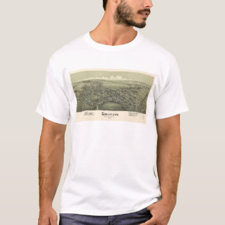 Lucht Uitzicht van Gallitzin, Pennsylvania (1901) T Shirt