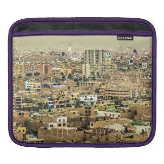 Lucht Uitzicht van Lima Rand, Peru Sleeve Voor iPad