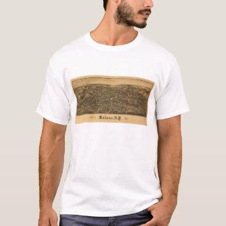 Lucht Uitzicht van Malone, New York (1886) T Shirt
