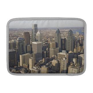 Lucht uitzicht van Philadelphia, Pennsylvania MacBook Beschermhoes