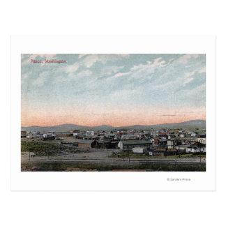 Lucht Uitzicht van Stad 4 Briefkaart