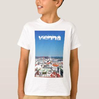 Lucht uitzicht van Wenen, Oostenrijk T Shirt