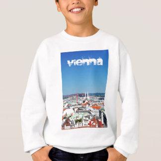 Lucht uitzicht van Wenen, Oostenrijk Trui