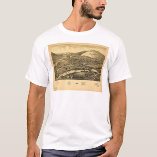 Lucht Uitzicht van Windsor, New York (1887) T Shirt