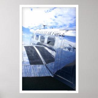 Luchtmacht Beechcraft 18/C45 Poster