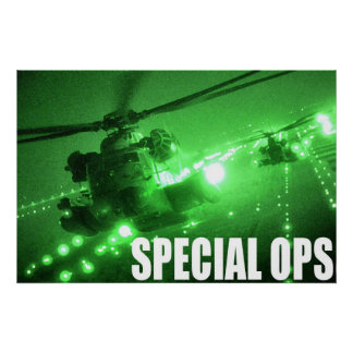 Luchtmacht Speciale Ops Poster