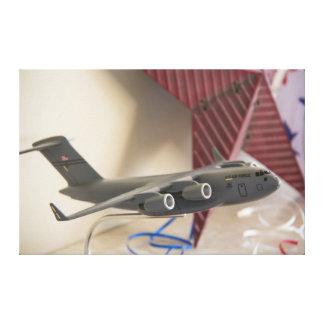 Luchtmacht Stretched Canvas Afdrukken