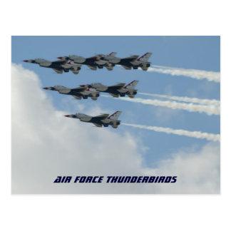 Luchtmacht Thunderbirds Briefkaart
