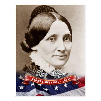 Lucy Hayes, Presidentsvrouw van de V.S. Briefkaart
