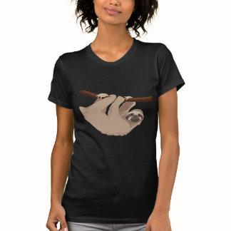 Luiaard drie Toed T Shirt