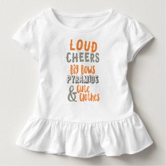 Luid juicht & Grote Bogen toe Kinder Shirts