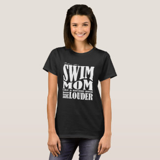 Luid zwem Mamma - T-shirt - de Besnoeiing van