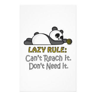 Luie Panda Briefpapier