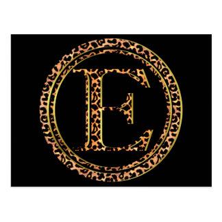 luipaard E Briefkaart