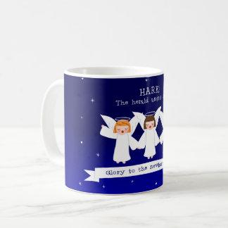Luister! De Engelen van The Herald zingen Glorie Koffiemok