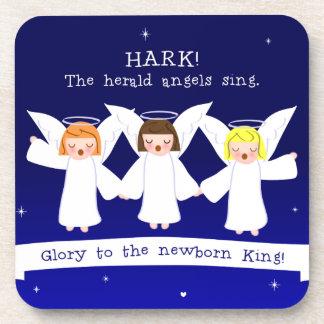 Luister! De Engelen van The Herald zingen Glorie Onderzetter