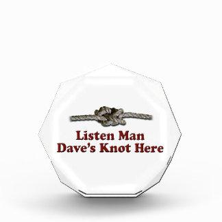 Luister de Knoop van Dave van het Man hier - Prijs
