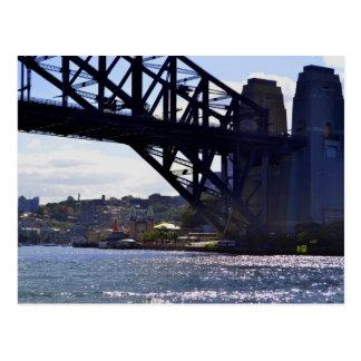 Luna het Briefkaart van Australië van de Brug van