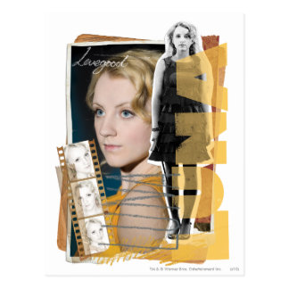 Luna Lovegood Briefkaart