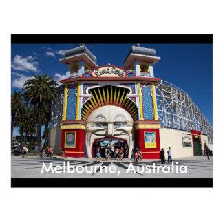 Luna Park het Briefkaart van Melbourne, Australië