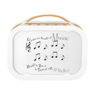 Lunchbox van Yubo van de gift