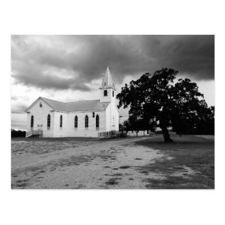 Lutheran Kerk van de drievuldigheid - Fedor, Texas Briefkaart
