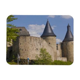 Luxemburg, de Zekere Vallei van de Rivier. Boursch Magneet