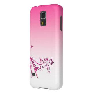 luxory roze hoesje voor de mobiele melkweg van galaxy s5 hoesje