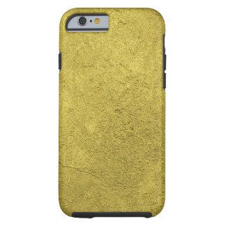 Luxueuze ondergedompeld gouden kijkt gevormde tough iPhone 6 hoesje