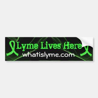 Lyme leeft hier de Sticker van de Bumper van de Vo