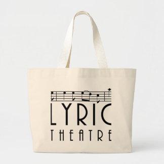 Lyrische het bolsazak van het Theater Grote Draagtas