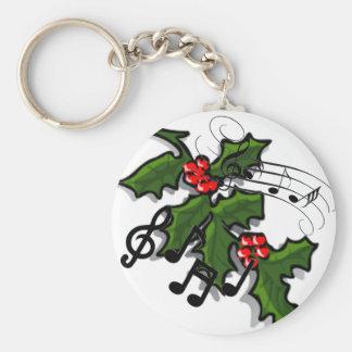 Lyrische Kerstmis Sleutelhanger