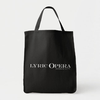 Lyrische Opera van het Bolsa van de Kruidenierswin Draagtas