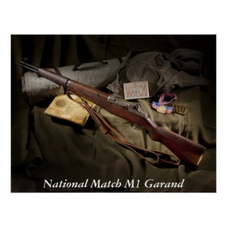M1 Garand Poster