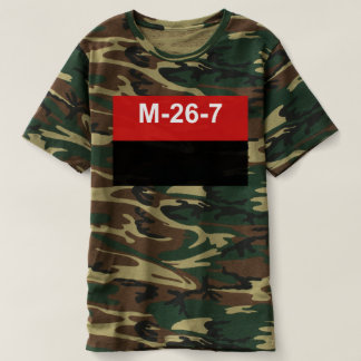M-26-7 vlag - Bandera del Movimiento 26 DE Julio T Shirts