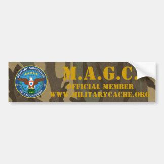 M.A.G.C. OFFICIEEL LID BUMPERSTICKER