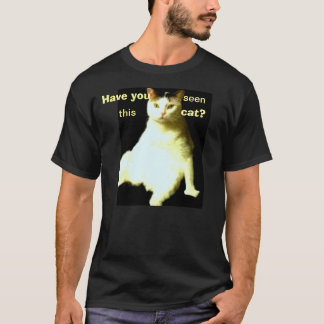M. Awesome Cat T Shirt