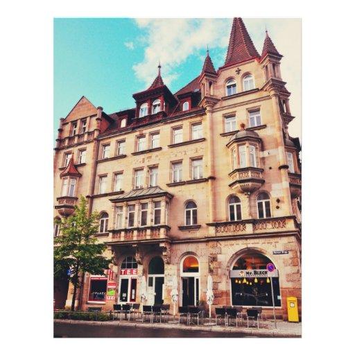 M. Bleck - Friedrich-Ebert-Platz, Nuremberg Folder Ontwerp