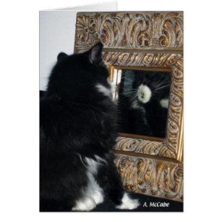 M. Bootee, door het het Kijken Glas Briefkaarten 0