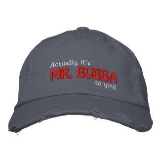 M. Bubba aan u! Geborduurde Pet
