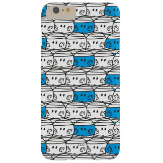 M. Bump   Blauw Patroon Barely There iPhone 6 Plus Hoesje