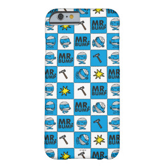 M. Bump   Mozaïek in Blauw Patroon Barely There iPhone 6 Hoesje