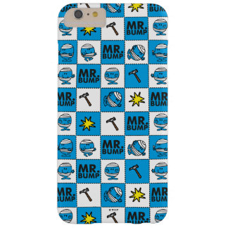 M. Bump   Mozaïek in Blauw Patroon Barely There iPhone 6 Plus Hoesje