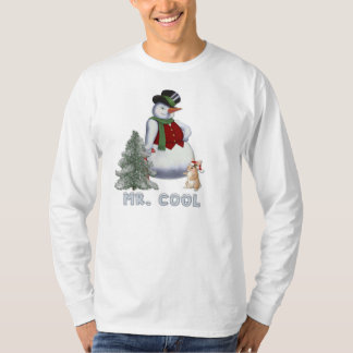 M. Cool - Sneeuwman T Shirt