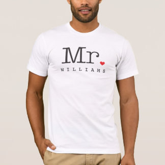 M. Custom Groom Shirt
