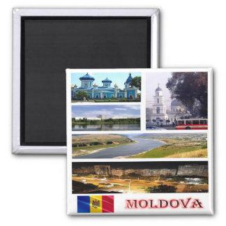 M.D. - Moldova - het Mozaïek van de Collage Magneet