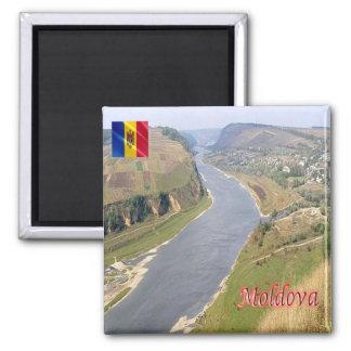 M.D. - Moldova - van Dniester het Panorama van de Magneet